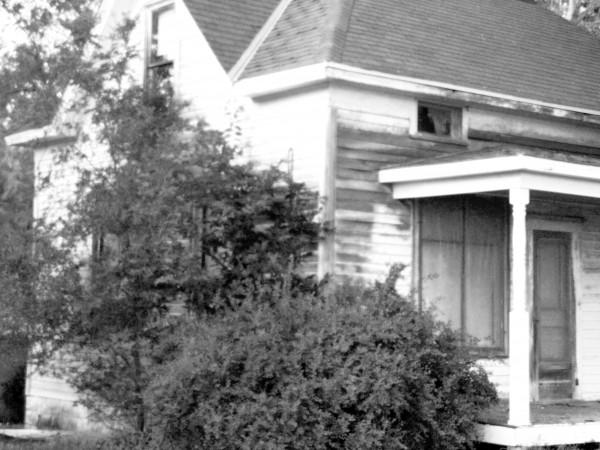 Creepy House Front Trish Eklund PS