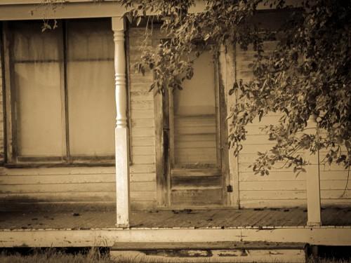 Creepy House Porch Trish Eklund PS