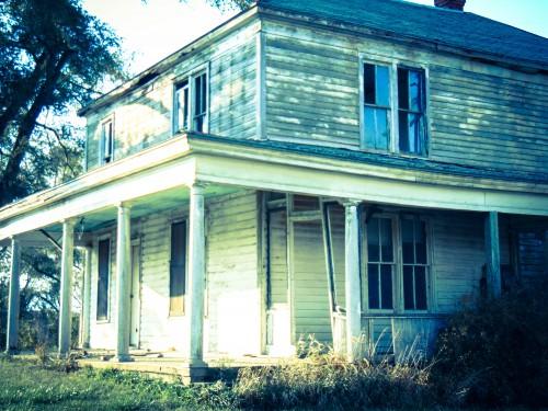 Abandoned Farmhouse, Nebraska-Eklund
