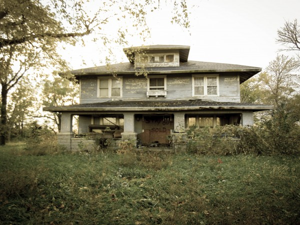 Abandoned House, Nebraska-Eklund
