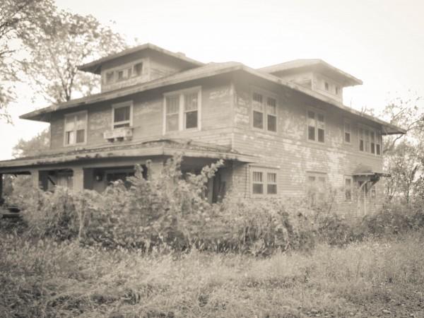 Abandoned House, Nebraska-Eklund