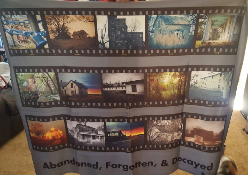 Fleece Blanket Film Strip Style 1 $60 Pic 2