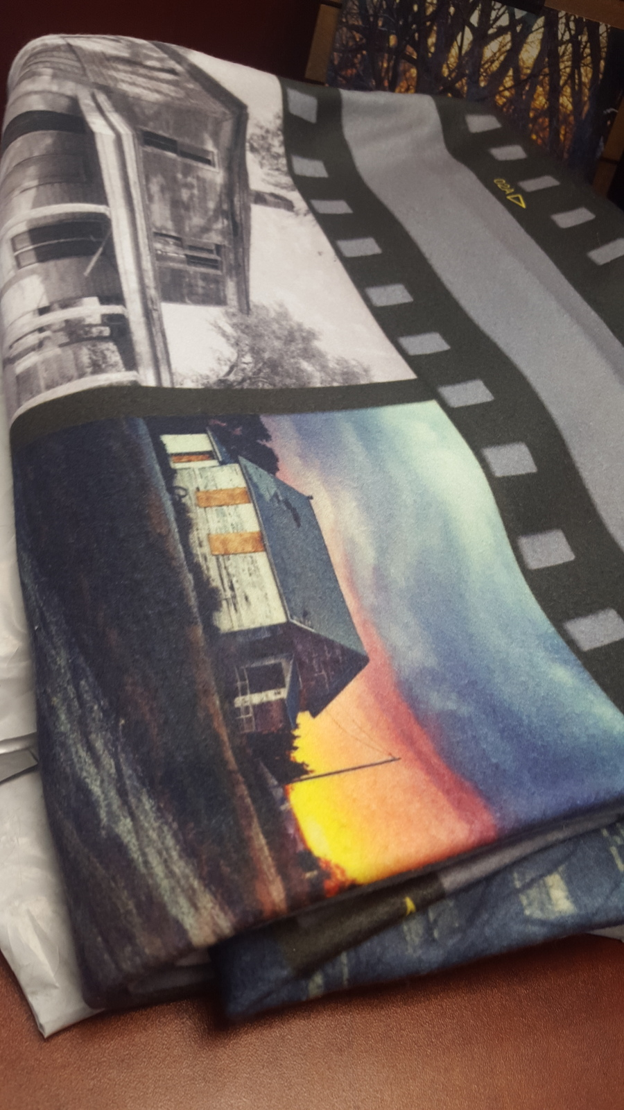 Fleece Blanket Film Strip Style 1 $60
