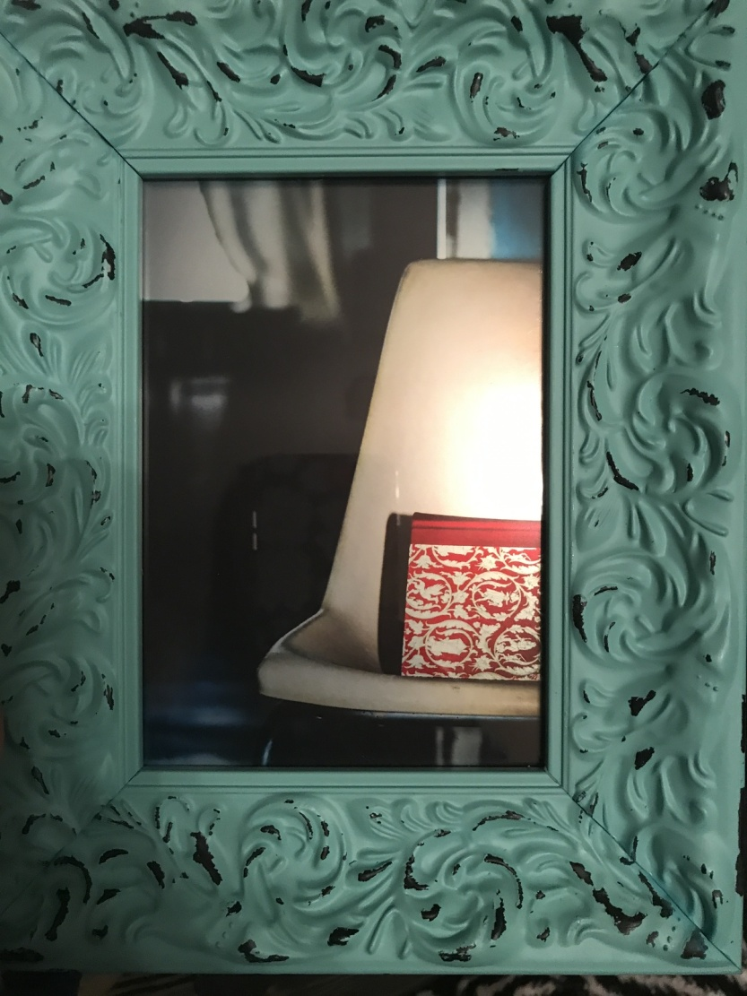 Framed 5x7 Photo Edinburgh Manor Turquoise Frame $17